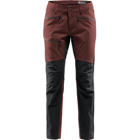 Haglöfs Rugged Flex Pants Herre maroon red/true black